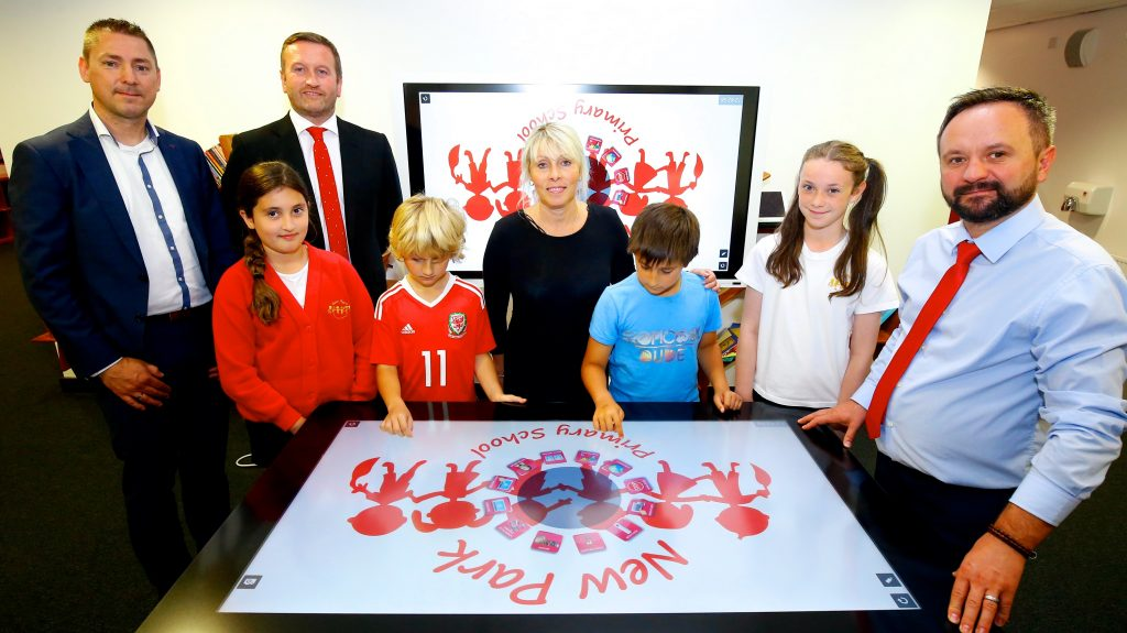New Park & Copyrite Systems with the Ricoh Interactive Learning Table (ILT)