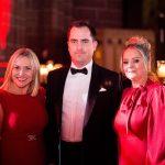 Ania Hildrey, headteacher, Abbot's Lea School, Stephen Hildrey and Fiona Barnet, from award sponsor The Foundry Agency