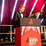 Awards Judge James Tarrt, elite athlete and graduate architect at Falconer Chester Hall