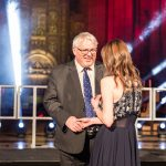 Malik Killen, School Improvement Liverpool presenting the School Support Star of the Year award