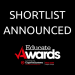 Shortlist announced for the Educate Awards 2018