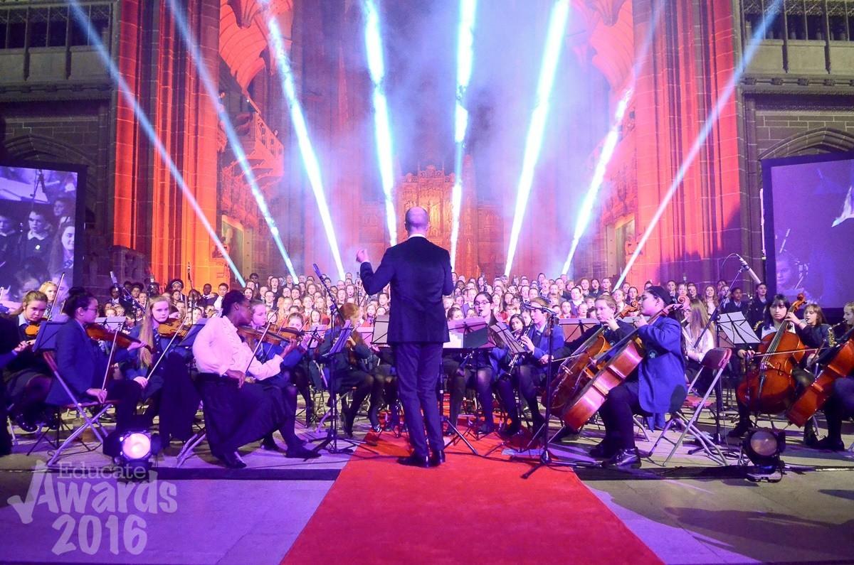 Educate Awards Super Choir