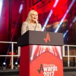 Awards Judge Lesley Martin-Wright, chief executive of Knowsley Chamber