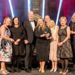 Innovation in Education award winner Evelyn Primary School with Alan Thompson, Hi Impact.