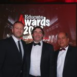 Andrew Hampson, Tom Doyle (Copyrite Systems) and Owen Macfarland (Ricoh)